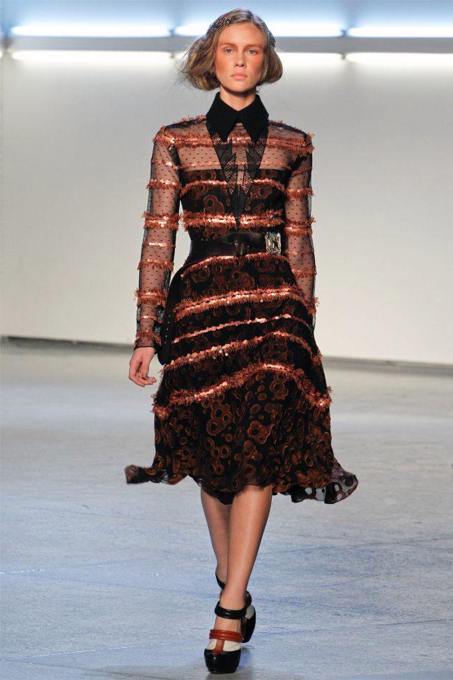 Rodarte Fall 2012 New York Fashion Week