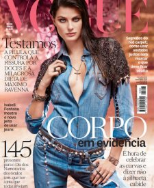 726fb867 Isabeli Fontana Shines in Balmain for Vogue Thailand December 2013 ...