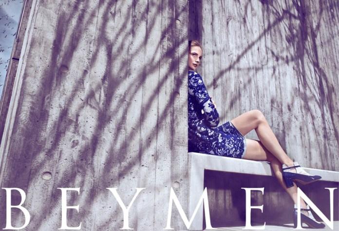 beymen fw ads3 Katrin Thormann Fronts Beymen Fall 2013 Ads by Koray Birand