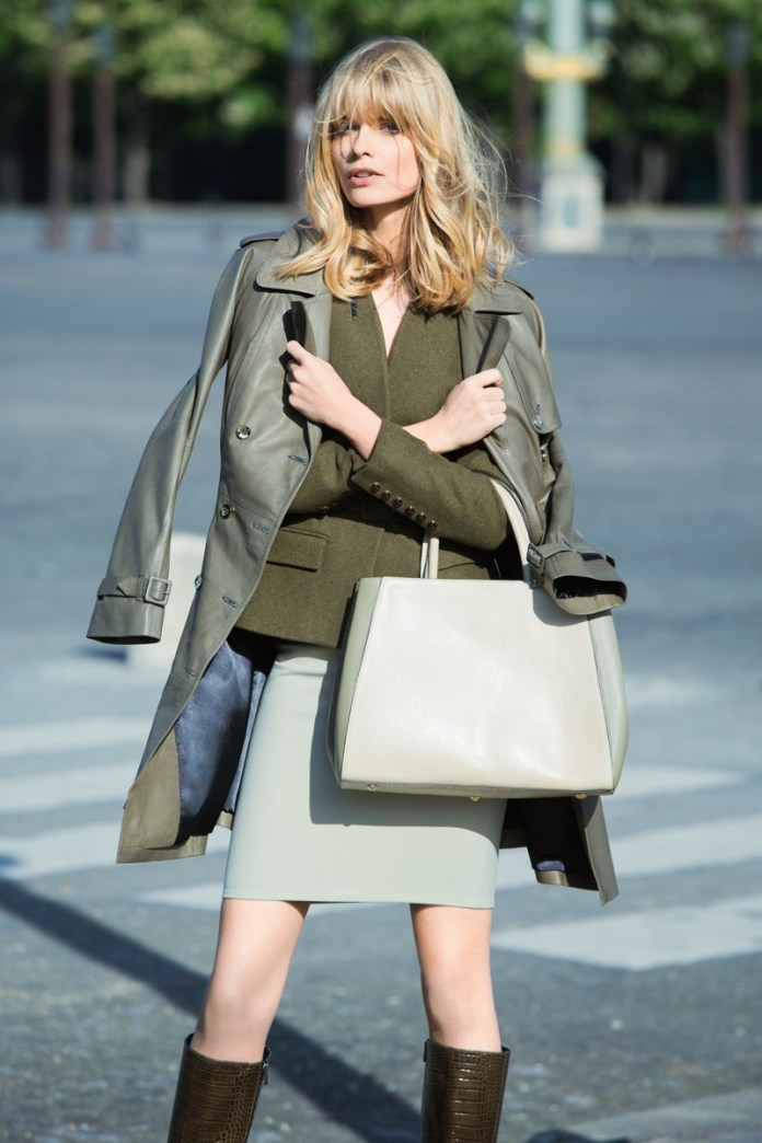 julia stegner model1 Julia Stegner Stars in NetWorks Fall 2013 Campaign