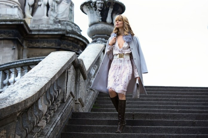 julia stegner model2 Julia Stegner Stars in NetWorks Fall 2013 Campaign