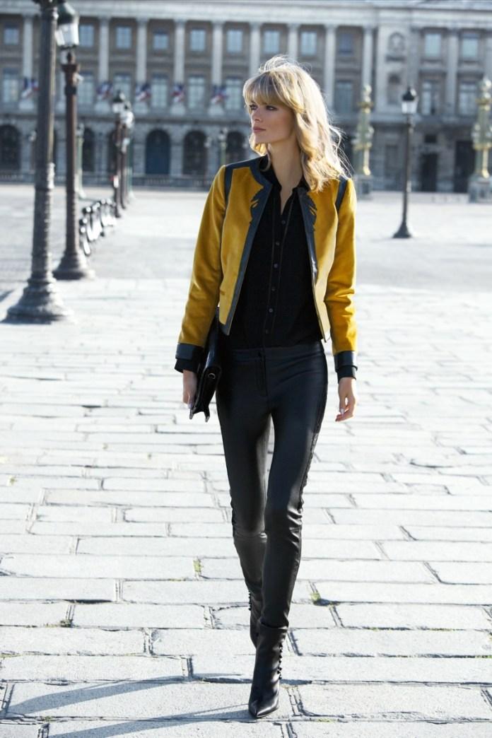 julia stegner model4 Julia Stegner Stars in NetWorks Fall 2013 Campaign