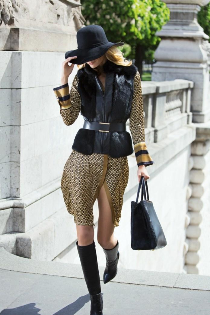 julia stegner model5 Julia Stegner Stars in NetWorks Fall 2013 Campaign
