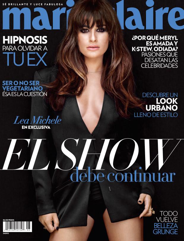 Lea Michele's Marie Claire Mexico Cover