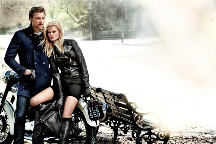 massimo dutti fall3 Toni Garrn Returns for Massimo Duttis Fall 2013 Campaign by Mario Testino
