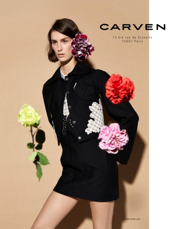 Carven 2014 Spring/Summer Campaign