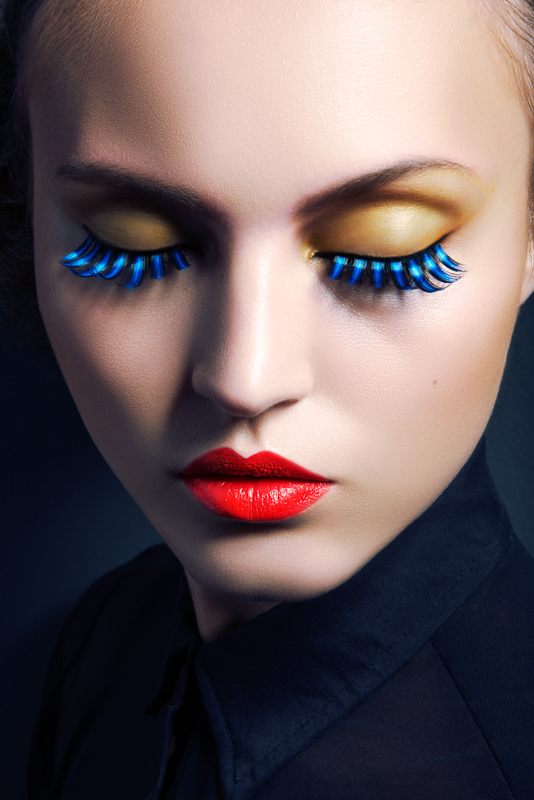 Lofty Lashes Paloma Passos By Jeff Tse In Beauty Shoot