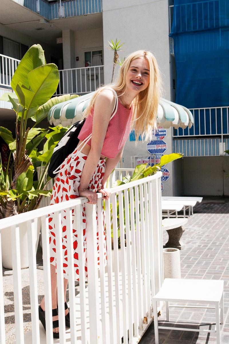 elle fanning asos magazine photos4 Elle Fanning Stars in ASOS Magazine, Talks Knowing Karl Lagerfeld