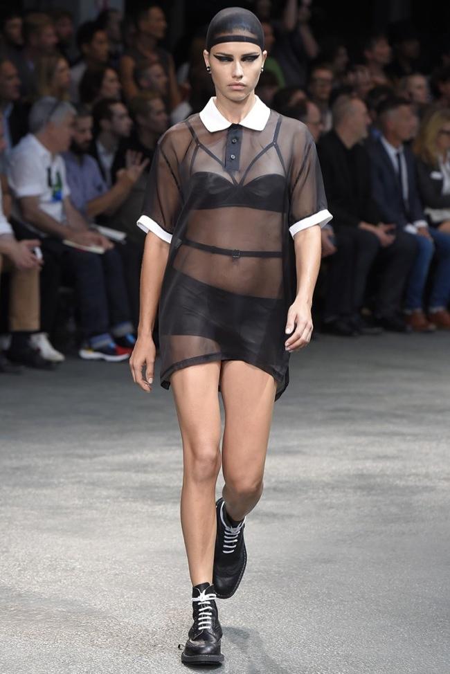 givenchy female models men1 Irina Shayk, Candice Swanepoel, Adriana Lima Walk Givenchy Menswear Show
