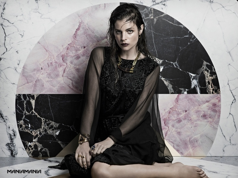 maniamania 2014 fall julia restoin roitfeld6 Julia Restoin Roifeld Goes to the Dark Side for ManiaMania's Obscura Campaign
