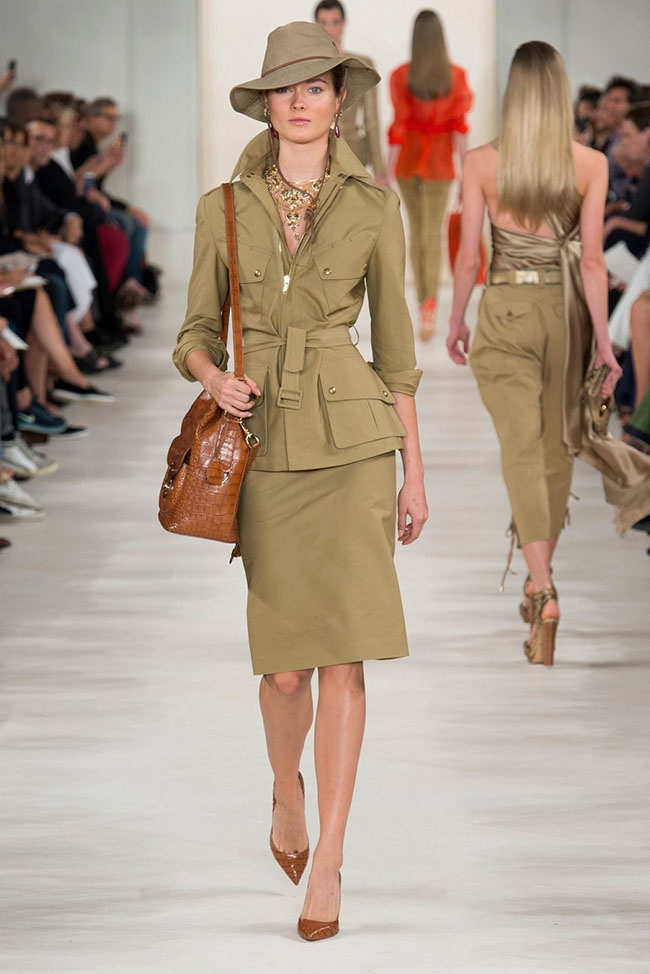 Army Green Uniform Skirts