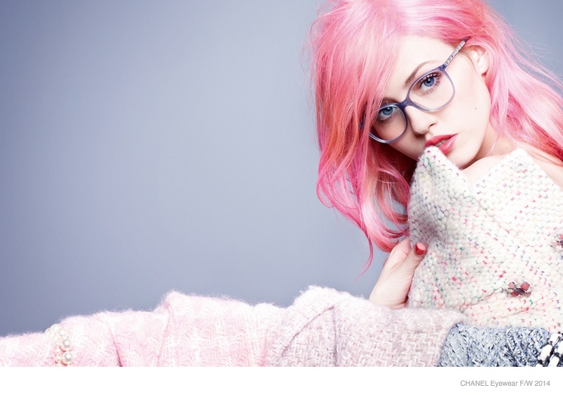 Chanel Eyewear 2014 FallWinter Ad Campaign Photos