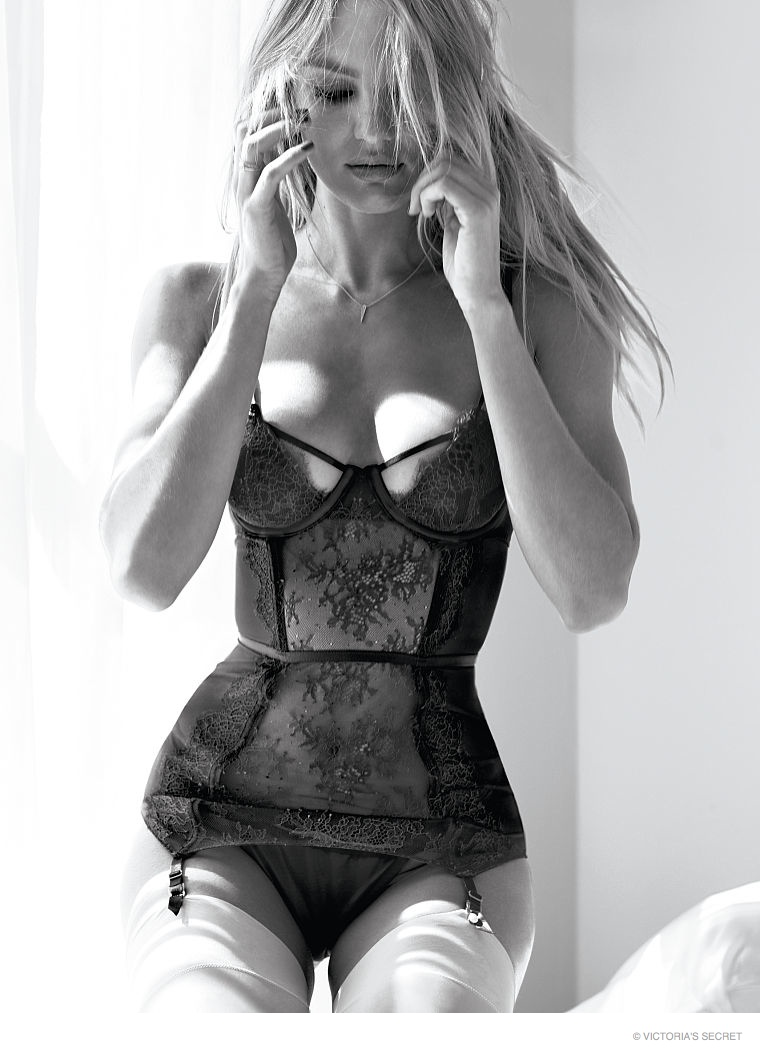Candice Swanepoel Is Red Hot In Victorias Secret