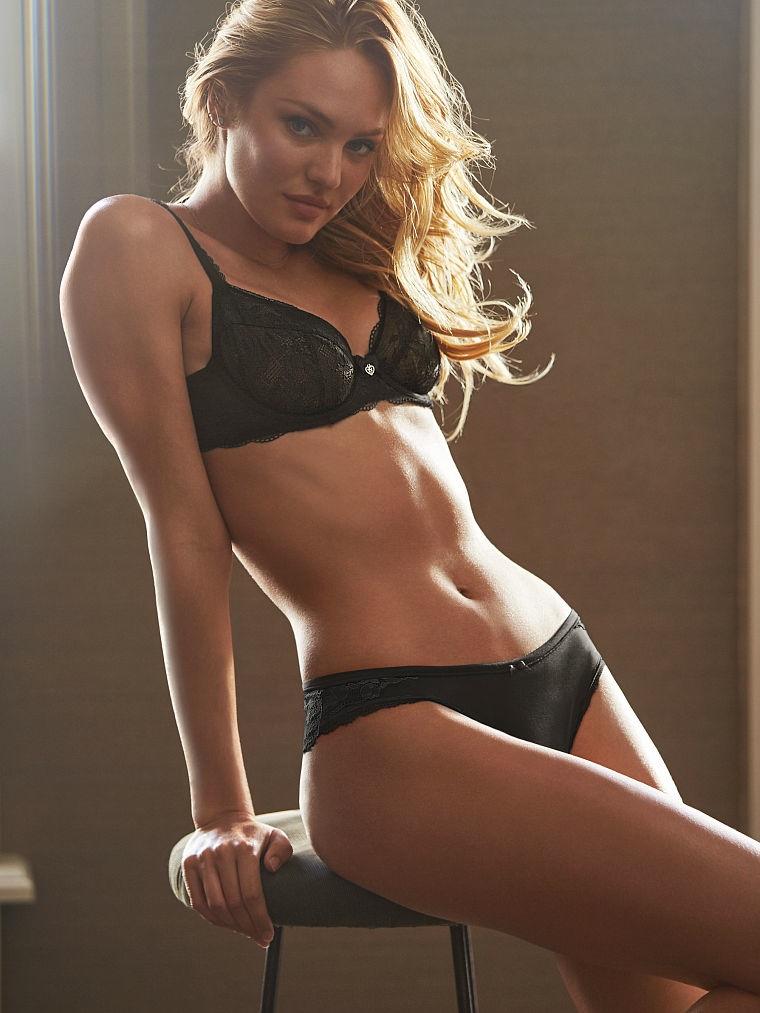 Candice Swanepoel Models Victorias Secret Underwear Styles