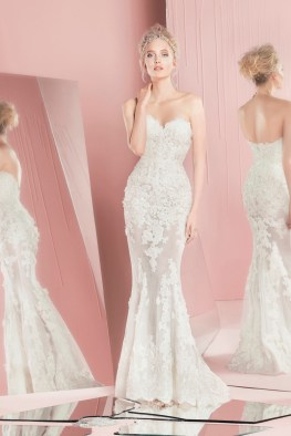 A look from Zuhair Murad's spring 2016 bridal collection