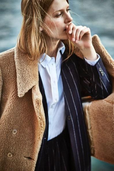Laura Julie Wears Gamine Style in Shopbop Lookbook | Fashion