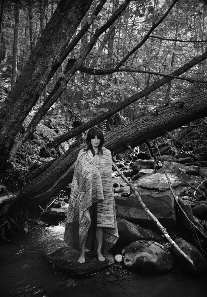 Helena Christensen Is Boho Chic In PORTER By Yelena