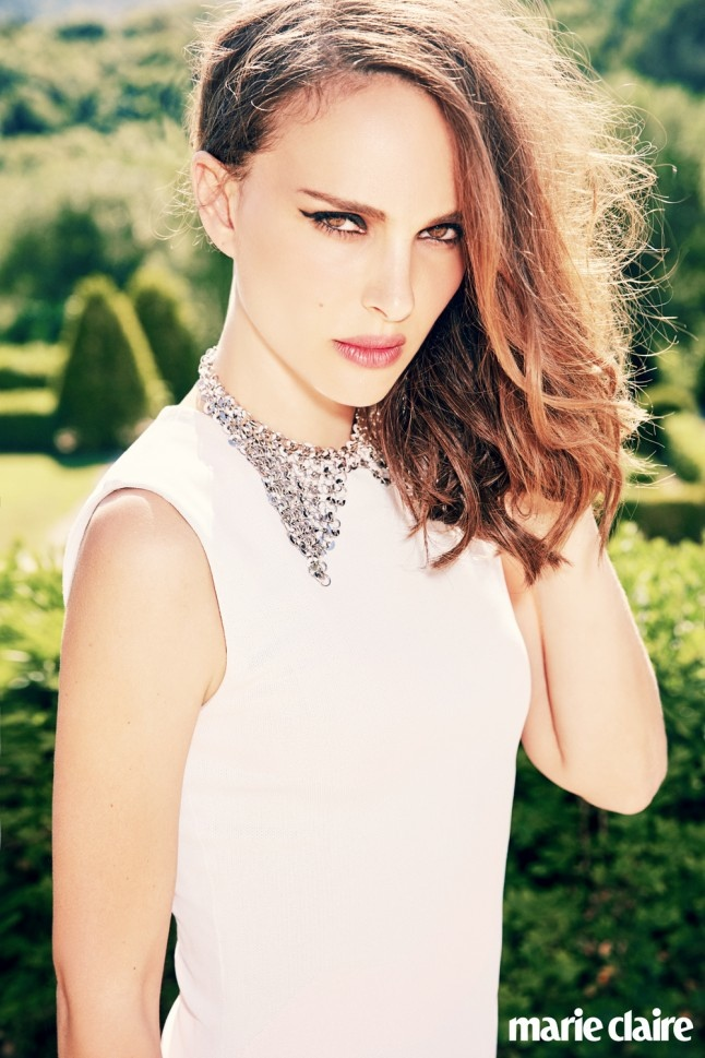 Natalie Portman Stuns In Marie Claire UKs September Issue