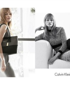 cae091fcec4 Edita Vilkeviciute Works A Chic Wardrobe in Calvin Klein White Label Ads