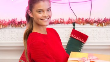 21e2a0c97657 Nina Agdal Stars in Merry Michael Kors Holiday Gifting Video