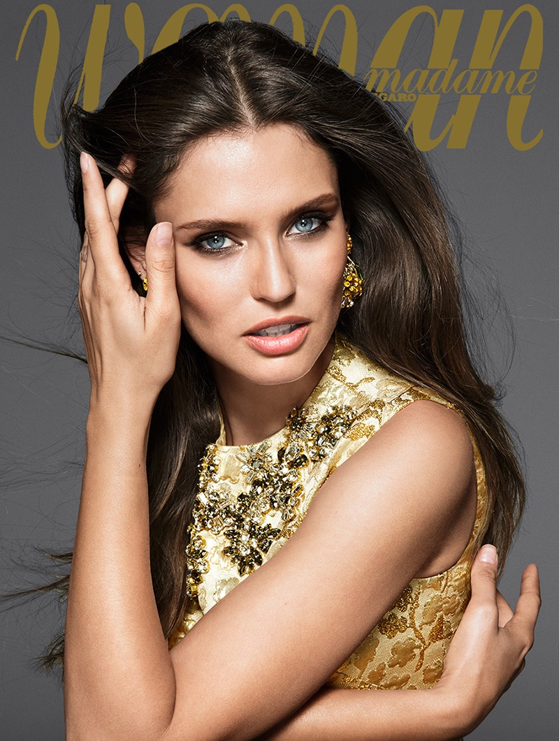 Bianca Balti Stuns In Dolce Amp Gabbana For Woman Spain By