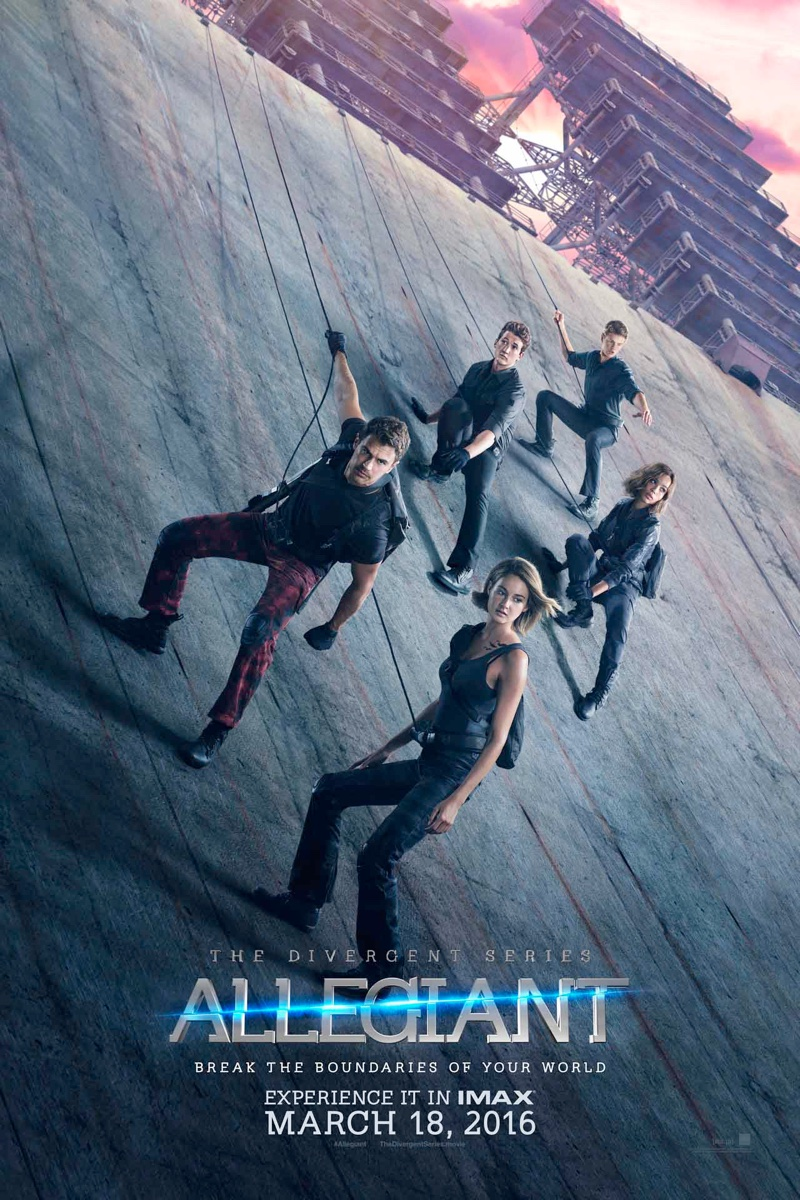 Image result for allegiant movie poster