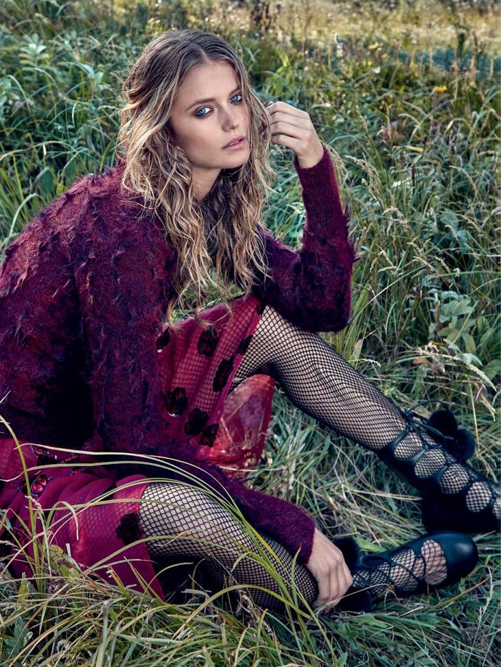 Kate Bock Embraces Romantic Winter Looks In Dress To Kill