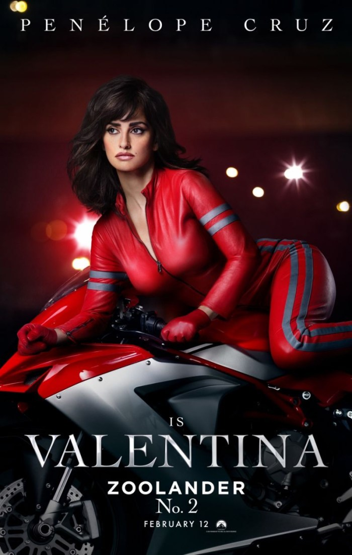 Penelope Cruz as Valentina on Zoolander 2 poster