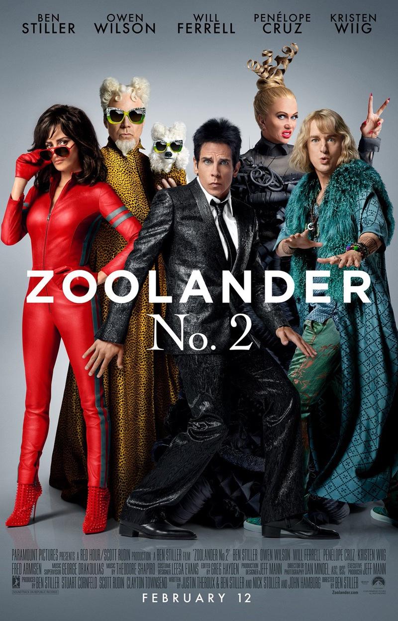 Poster do filme Zoolander 2