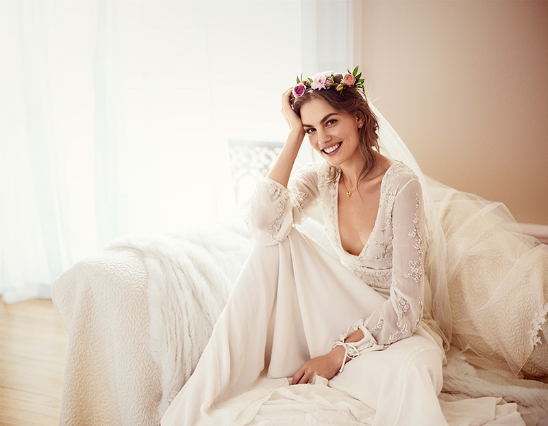 Svetlana Lazareva Models Gorgeous Wedding Gowns For Brides