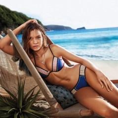 Josephine Skriver stars in Victoria's Secret Swim 2016 catalog