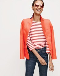 J Crew Embraces Denim Amp Gingham For April Style Guide