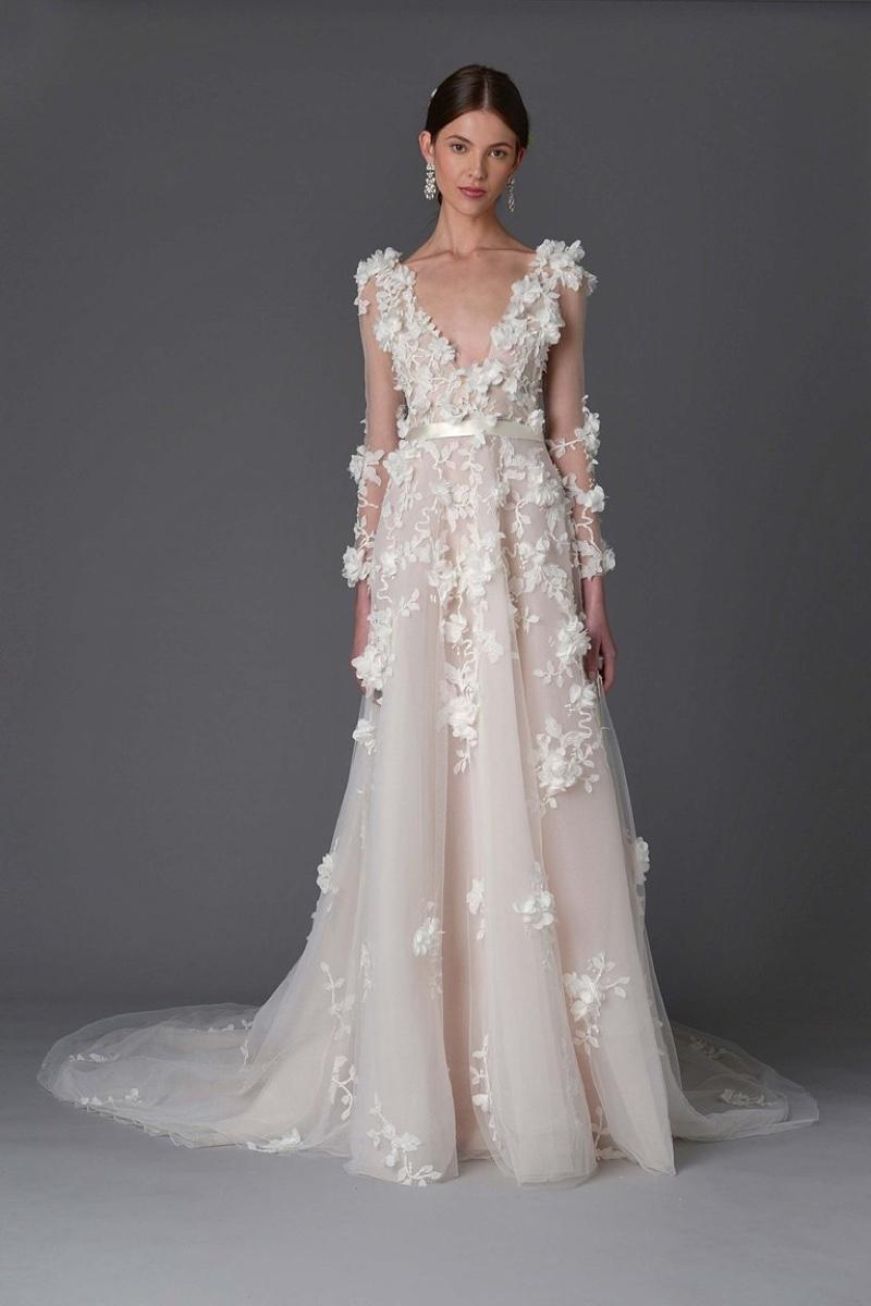 Country Western Wedding Dress 37 Amazing Marchesa Bridal Spring Wedding