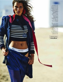 Chloe Lecareux Poses in Warm Weather Looks for ELLE Spain ...