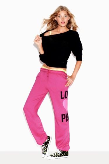 Elsa Hosk for Victoria's Secret Pink