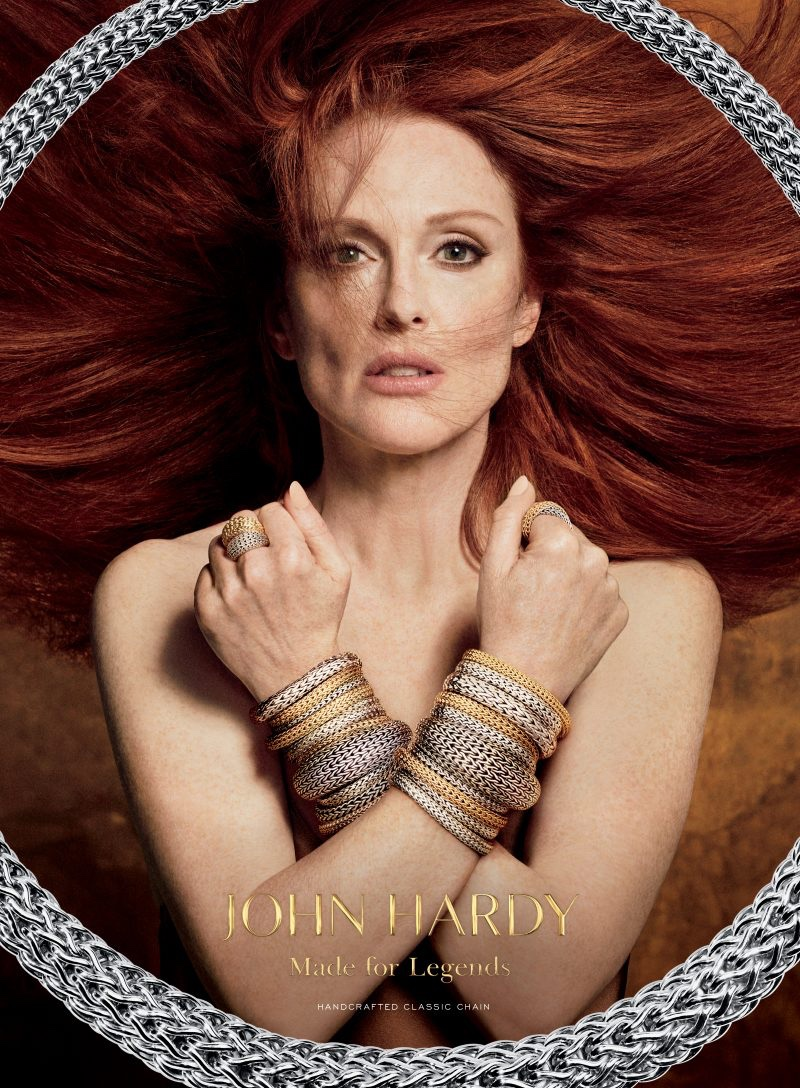 Julianne Moore fronts John Hardy campaign