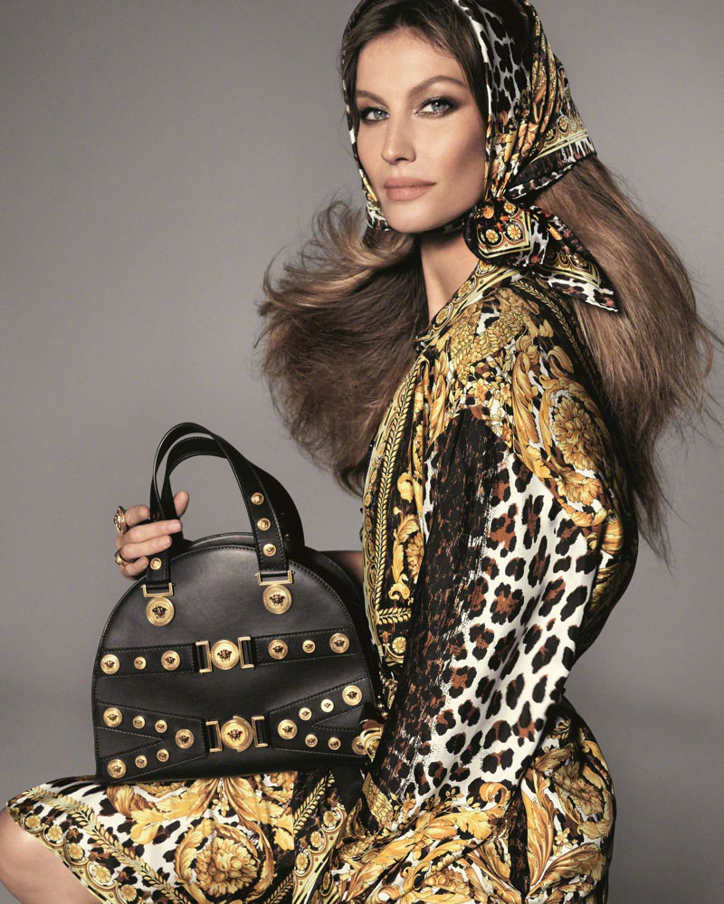 Versace Spring Summer 2018 Ad Campaign Fashion
