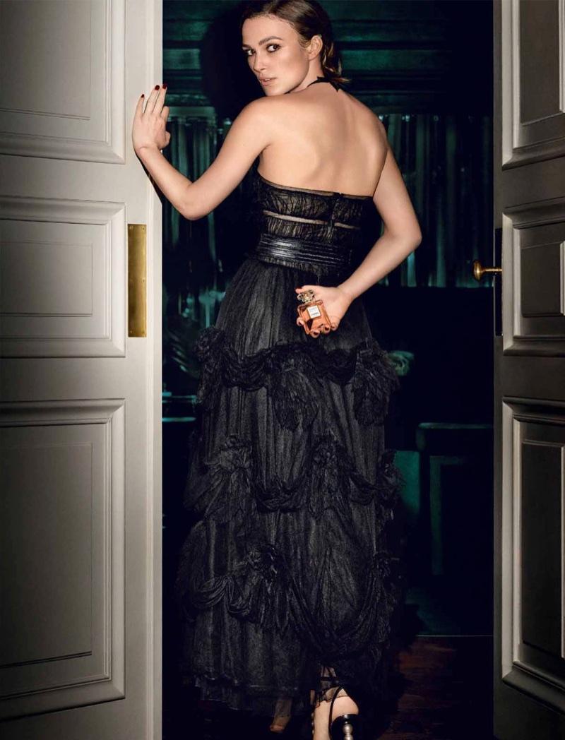 Chanel enlists Keira Knightley for Coco Mademoiselle Eau de Parfum Intense campaign