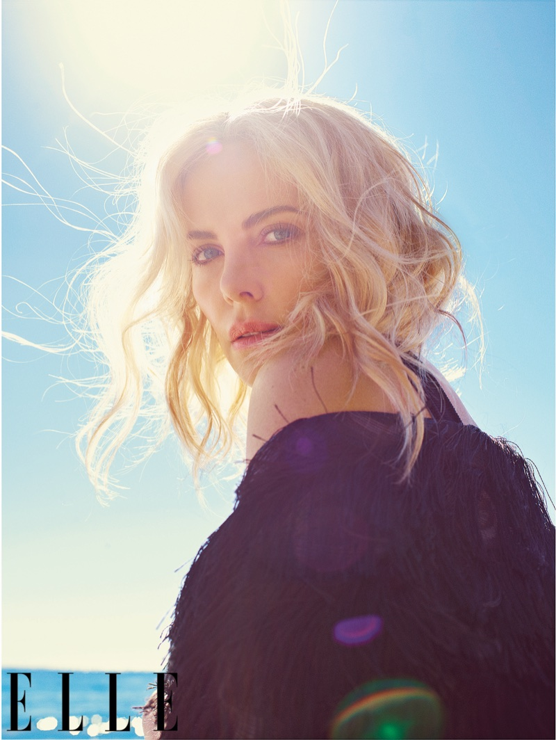 Charlize Theron stuns in this sun-drenched shot