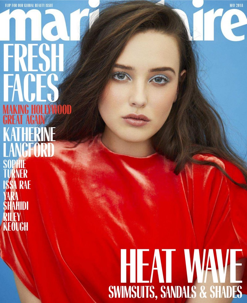 Katherine Langford on Marie Claire US May 2018 Cover