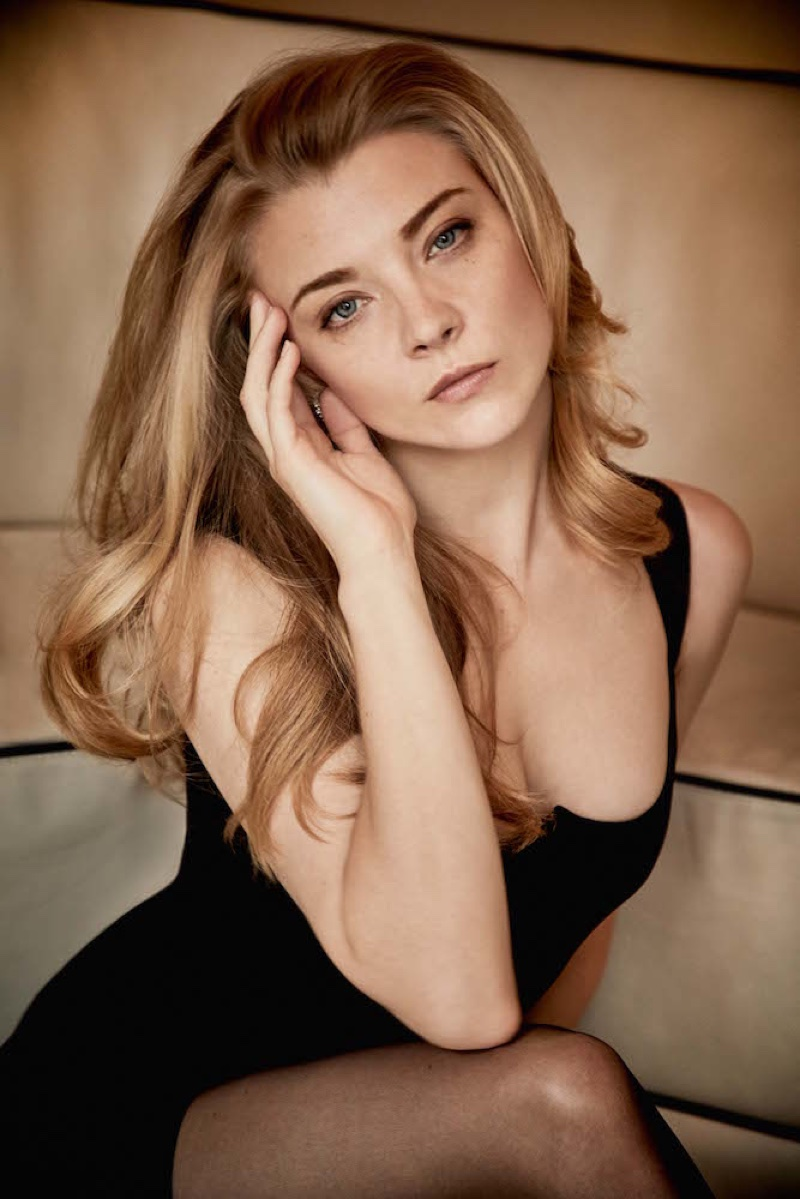 Actress Natalie Dormer poses for Interview Magazine
