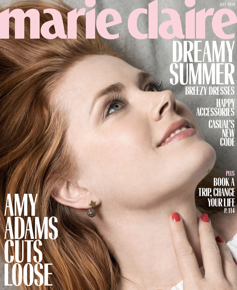 Amy Adams on Marie Claire US July 2018 Cover