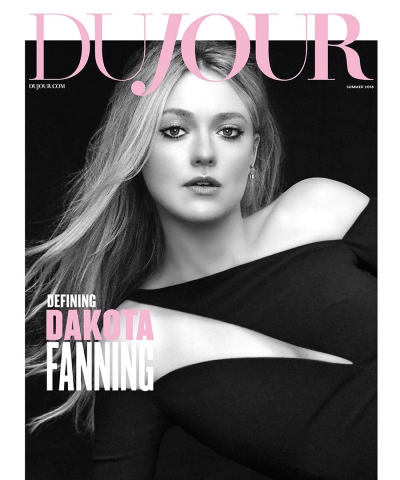 Dakota Fanning on DuJour Magazine Summer 2018 Cover
