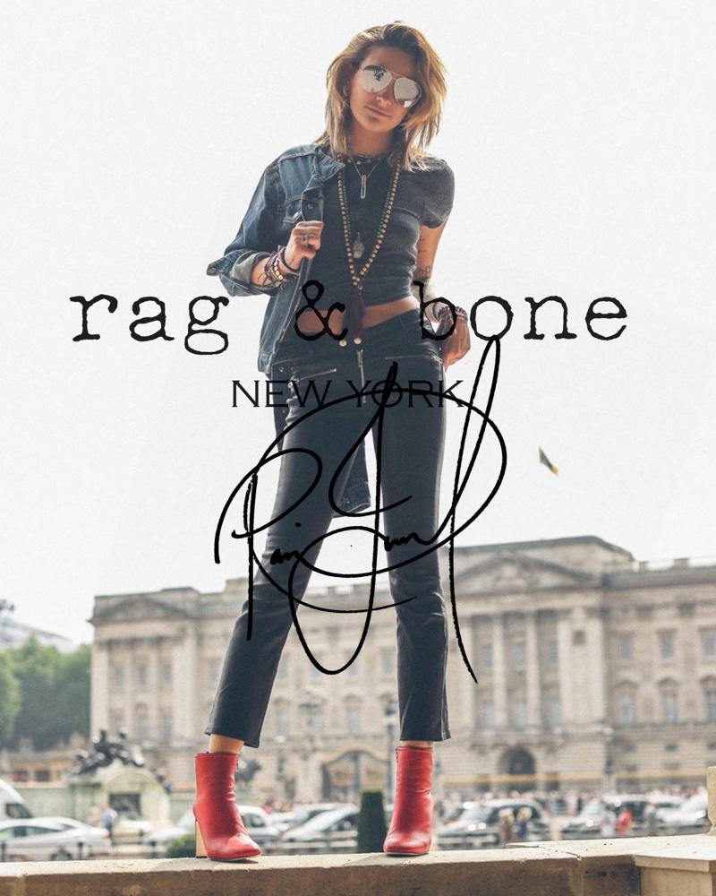 Rag & Bone enlists Paris Jackson for latest DIY Project