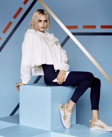 8d16b07fdd97 Cara Delevingne Gets Sporty in PUMA Sneaker Campaign