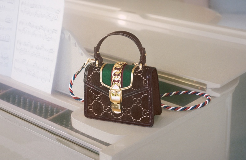 Gucci spotlights Sylvie handbag in new campaign