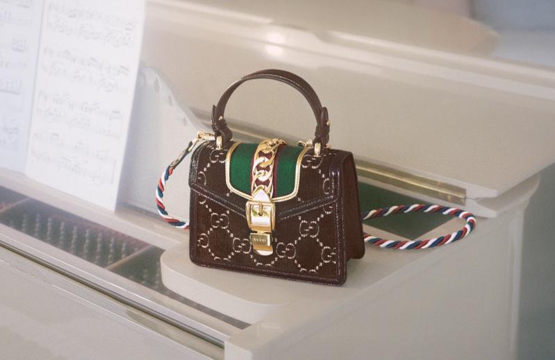 Gucci spotlights Sylvie handbag in new campaign