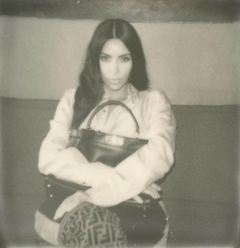 Kim Kardashian stars in Fendi #MeandMyPeekaboo campaign