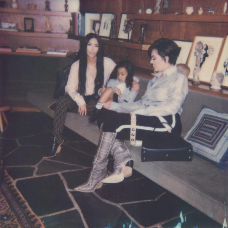 Kim Kardashian, North West and Kris Jenner appear in Fendi #MeandMyPeekaboo campaign