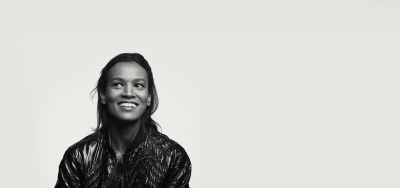 Model Liya Kebede in Moncler BEYOND campaign